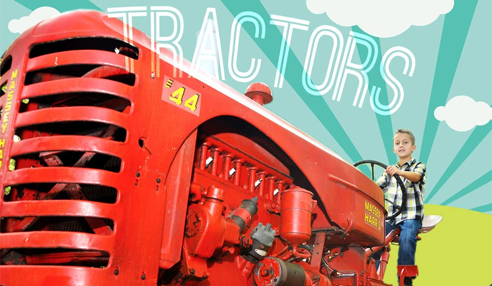 real tractors fun for kids green meadows farm brooklyn ny