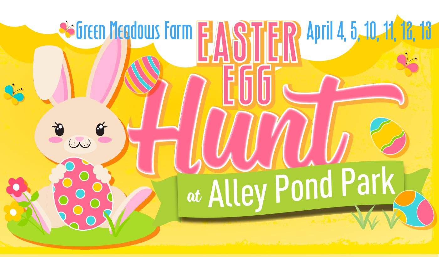 Easter Egg Hunt at Alley Pond Park